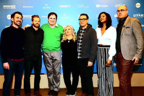 'Documentary Now' Red Carpet, Screening And After Party [documentary now red carpet,social group,event,team,premiere,performance,rhys thomas,renee elise goldsberry,fred armisen,alexander buono,richard kind,paula pell,screening,l-r,party]