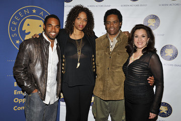 """Richard Lawson SAG's National Ethnic Employment Opportunities Committee Presents """"The Black Hollywood Experience: Our History... Our Future"""" Panel"""