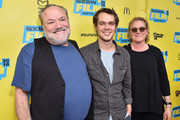 "(L-R) Louis Black, Ellar Coltrane and Karen Bernstein attend the screening of ""Richard Linklater - Dream Is Destiny"" during the 2016 SXSW Music, Film + Interactive Festival at Paramount Theatre on March 12, 2016 in Austin, Texas."