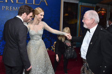 Richard Madden Lily James 'Cinderella' Premieres in Hollywood — Part 2