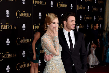 Richard Madden Lily James 'Cinderella' Premieres in Hollywood — Part 4