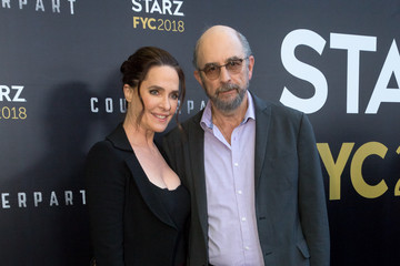 Richard Schiff Sheila Kelley For Your Consideration Event For Starz's 'Counterpart' And 'Howards End' - Arrivals