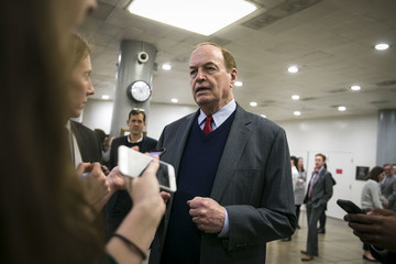 Richard Shelby Senate Lawmakers Address the Media After Their Weekly Policy Luncheons