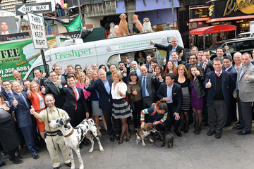 Richard Thompson Freshpet, Inc Rings the NASDAQ Opening Bell