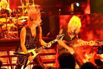 Richie Faulkner Judas Priest and Steel Panther Performance