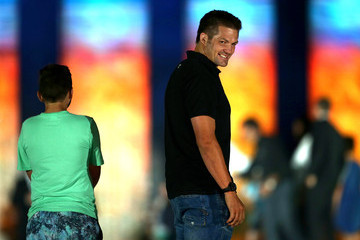 Richie Mccaw ICC 2015 Cricket World Cup Opening Ceremony