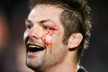 Richie Mccaw Super Rugby Semi Final - Crusaders v Sharks