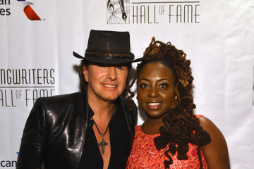 Richie Sambora Celebrities Smile at the Songwriters Hall of Fame 46th Annual Induction and Awards