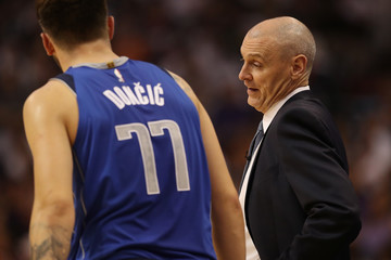 Rick Carlisle Dallas Mavericks vs. Phoenix Suns