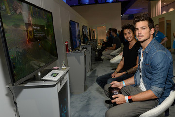 Rick Malambri Nintendo Hosts Celebrities At 2016 E3 Gaming Convention
