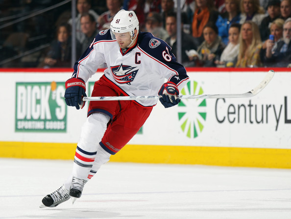 Rick Nash - Columbus Blue Jackets v Colorado Avalanche