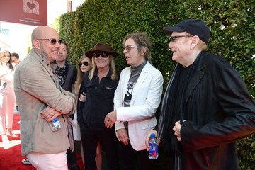 Rick Nielsen Daxx Nielsen John Varvatos 13th Annual Stuart House Benefit Presented by Chrysler With Kids' Tent by Hasbro Studios - Arrivals
