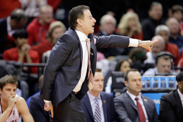 Rick Pitino NCAA Basketball Tournament - First Round - Indianapolis