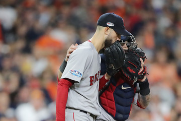 Rick Porcello League Championship Series - Boston Red Sox vs. Houston Astros - Game Four