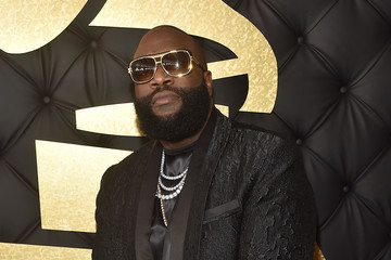 Rick Ross The 59th GRAMMY Awards -  Red Carpet