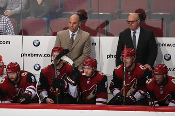 Rick Tocchet Detroit Red Wings v Arizona Coyotes
