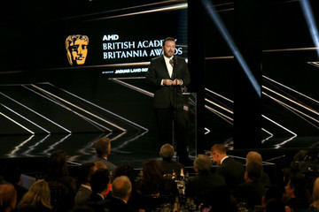 Ricky Gervais 2016 AMD British Academy Britannia Awards Presented by Jaguar Land Rover and American Airlines - Show