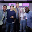 Ricky Haywood Will Ferrell and Mark Wahlberg Visit KISS FM
