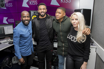 Ricky Haywood Craig David Visits KISS FM