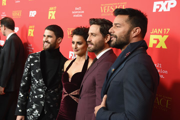 Ricky Martin Edgar Ramirez Premiere Of FX's 'The Assassination Of Gianni Versace: American Crime Story' - Red Carpet