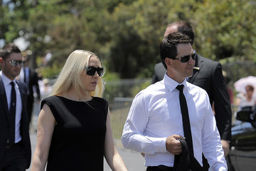 Ricky Ponting Rianna Cantor Funeral Held fo rPhillip Hughes