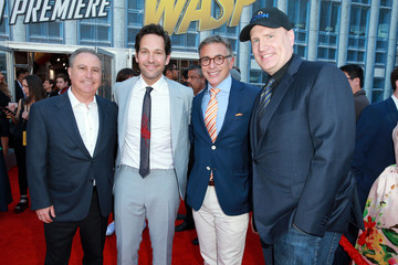 Ricky Strauss Alan Bergman Premiere Of Disney And Marvel's 'Ant-Man And The Wasp' - Red Carpet