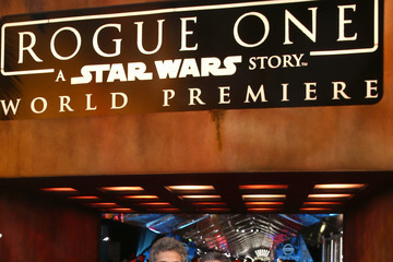 Ricky Strauss Alan Horn The World Premiere of 'Rogue One: A Star Wars Story'