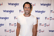 "Maksim Chmerkovskiy attends ""A Ride Through the Ages"": Wrangler Capsule Collection Launch at Fred Segal Sunset at Fred Segal on September 19, 2019 in Los Angeles, California."