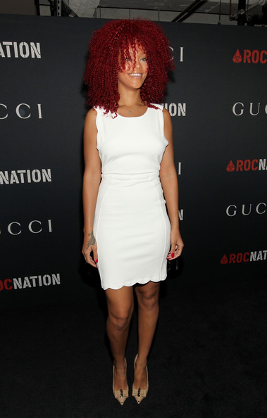 Rihanna - Gucci and Rocnation Pre-GRAMMY Brunch - Red Carpet