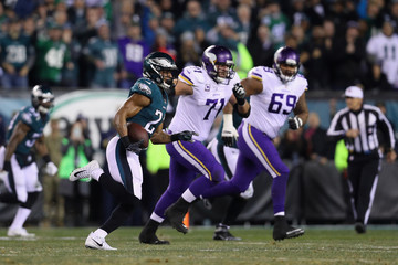 Riley Reiff NFC Championship - Minnesota Vikings v Philadelphia Eagles