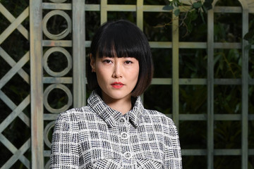 Rinko Kikuchi Chanel : Photocall - Paris Fashion Week - Haute Couture Spring Summer 2018