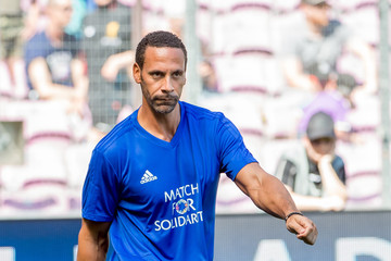 Rio Ferdinand UEFA Match For Solidarity