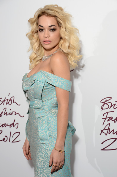 Rita Ora - British Fashion Awards 2012 - Inside Arrivals