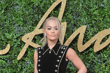 Rita Ora British Fashion Awards 2015 - Red Carpet Arrivals