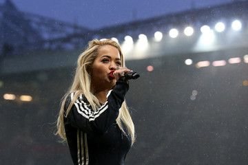 Rita Ora David Beckham Match for Children in Aid of UNICEF