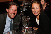Actor Ed Burns and model Christy Turlington Burns attend Rita Wilson's Opening Night at 54 Below on April 14, 2013 in New York City.