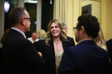 Rita Wilson Guests Attend a Party Honouring Tom Hanks Hosted by US Embassy