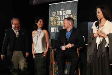 Rithy Panh HFPA and American Cinematheque Present the Golden Globe Foreign-Language Nominees Series 2018 Symposium