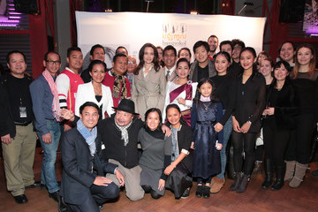 Rithy Panh Angelina Jolie Attends 'Bangsokol: A Requiem for Cambodia' at BAM (Brooklyn Academy of Music)