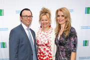 (L-R) Gala Chair and Vice Chair of the Riverside Park Conservancy Board of Trustees Gene Boxer, comedian and actress Caroline Rhea, and Gala Chair Molly MacDermot attend the Riverside Park Conservancy Benefit Gala celebrating Riverside Park's 135th Anniversary at West 79th Street Boat Basin on June 8, 2015 in New York City.