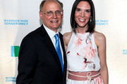 (L-R) President & Riverside Park Commissioner John F. Herrold and his wife Nicole Herrold attend Riverside Park Conservancy's Annual Spring Gala at General Grant National Memorial on June 6, 2016 in New York City.