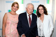 (L-R) Chair of Riverside Park Conservancy Lori L. Bassman, former District Attorney of New York County Robert M. Morgenthau and actress and producer Debra Winger attend The Riverside Park Conservancy's Annual Spring Gala at General Grant National Memorial on June 6, 2016 in New York City.