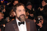 """Javier Bardem poses at the """"The Roads Not Taken"""" premiere during the 70th Berlinale International Film Festival Berlin at Berlinale Palace on February 26, 2020 in Berlin, Germany."""