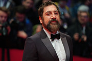 """Javier Bardem arrives for the """"The Roads Not Taken"""" premiere during the 70th Berlinale International Film Festival Berlin at Berlinale Palace on February 26, 2020 in Berlin, Germany."""
