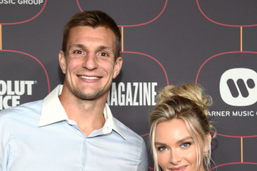 Rob Gronkowski Warner Music Group Pre-Grammy Party - Red Carpet
