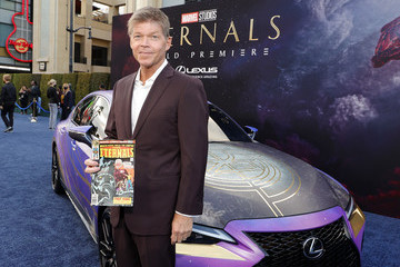 """Rob Liefeld Marvel's """"Eternals"""" World Premiere Images Provided By Lexus"""