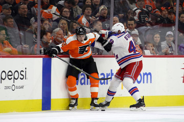 Rob O'Gara New York Rangers vs. Philadelphia Flyers