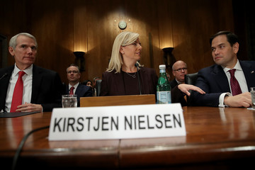 Rob Portman Senate Confirmation Hearing Held for Kirstjen Nielsen to Become Secretary of Homeland Security