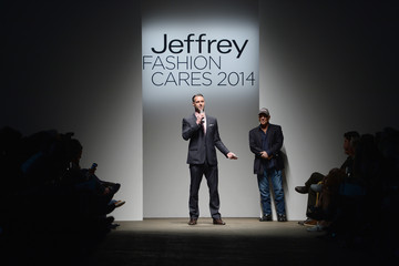 Rob Smith Arrivals at the Jeffrey Fashion Cares Event