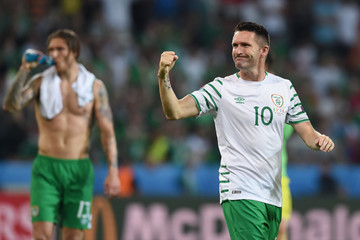 Robbie Keane Italy v Republic of Ireland - Group E: UEFA Euro 2016